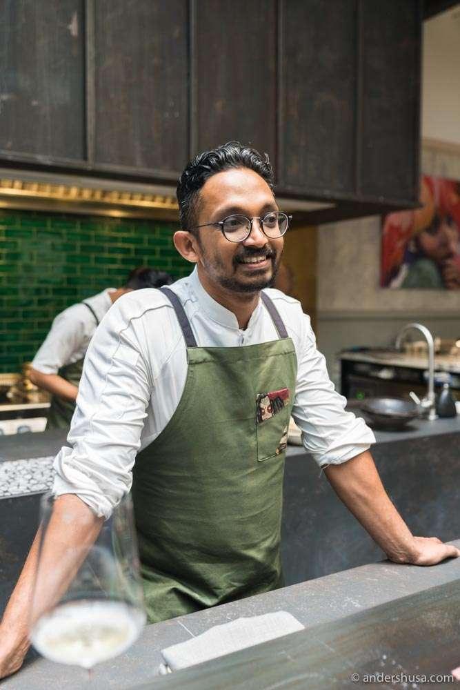 Chef Rishi Naleendra