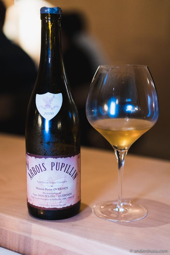 Arbois Pupillin from Emmanuel Houillon and Pierre Overnoy.