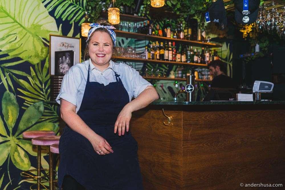 Chef Reneé Fagerhøi.