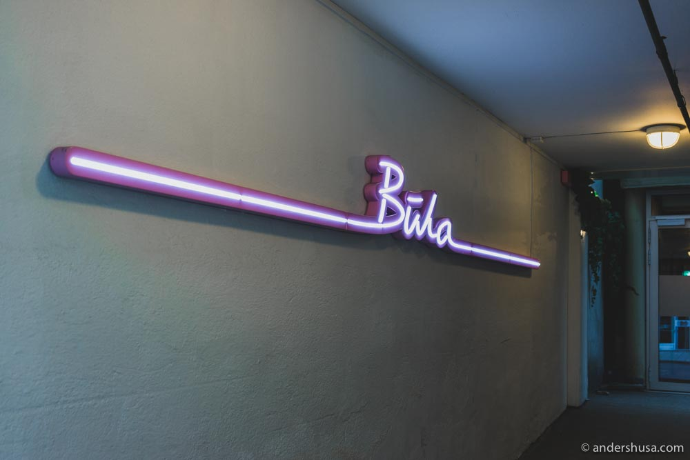 Bula Neobistro is located on Prinsens Gate 32 in Trondheim.