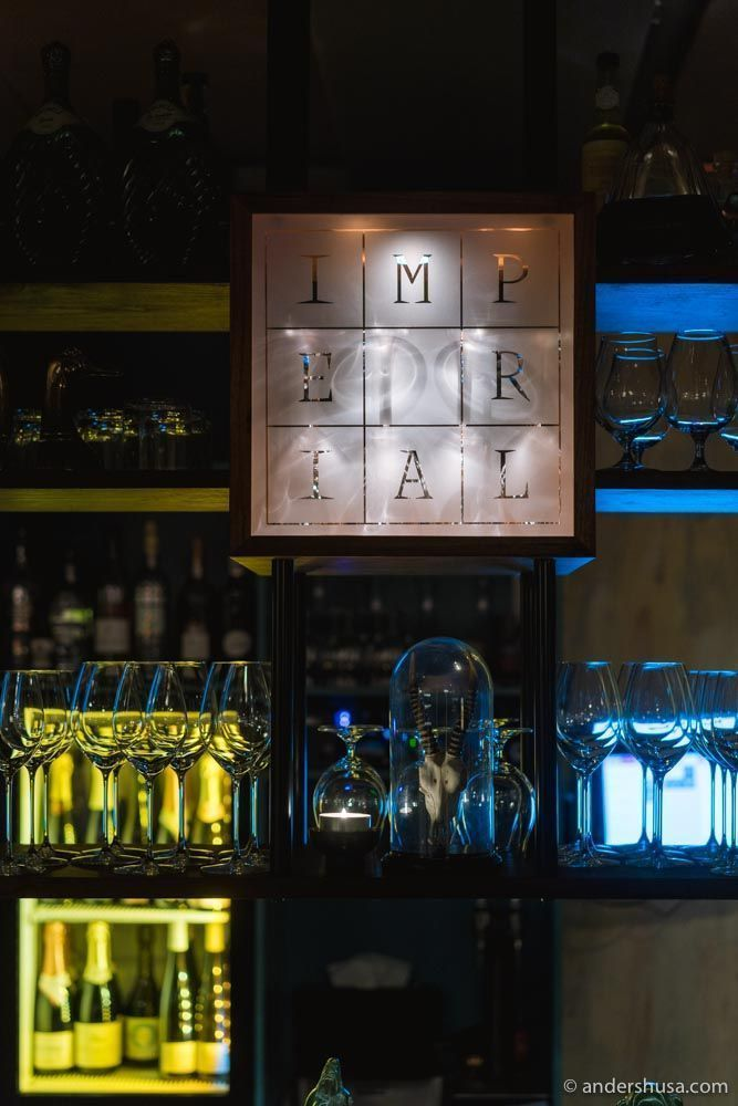 Imperial is a casual wine and snack bar in Oslo, which opened on December 14th, 2019.