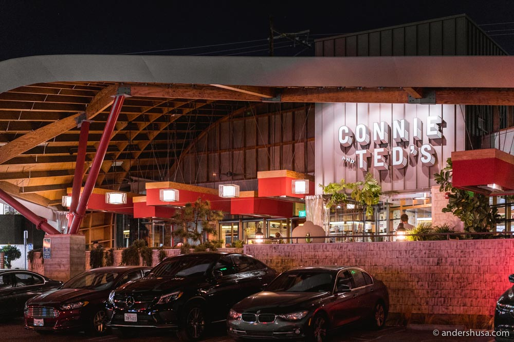 Connie & Ted's, an East-Coast seafood shack in the heart of West Hollywood.