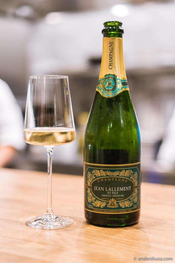 Champagne Jean Lallement et Fils – Verzenay Grand Cru.