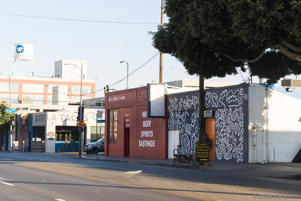 Everson Royce Bar is in L.A.'s Arts District.