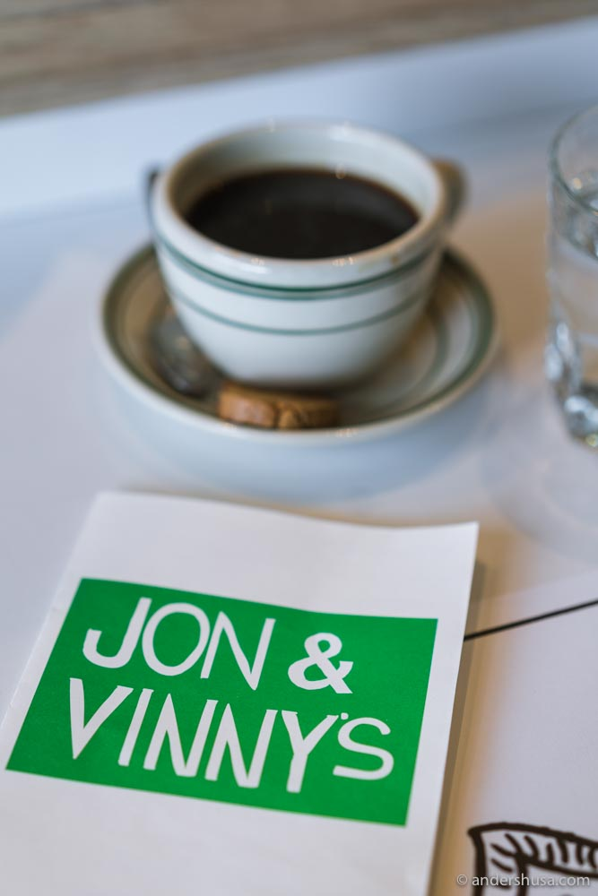 Jon and Vinny's is one of L.A.'s most popular restaurants.