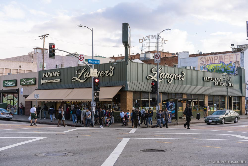 Langer's Deli is an L.A. institution.
