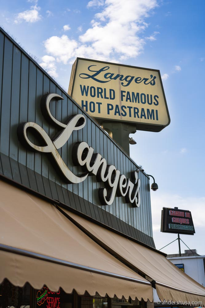 Langer's makes the best pastrami in the world!