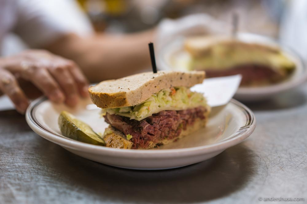 The #19 is the must-order at Langer's.