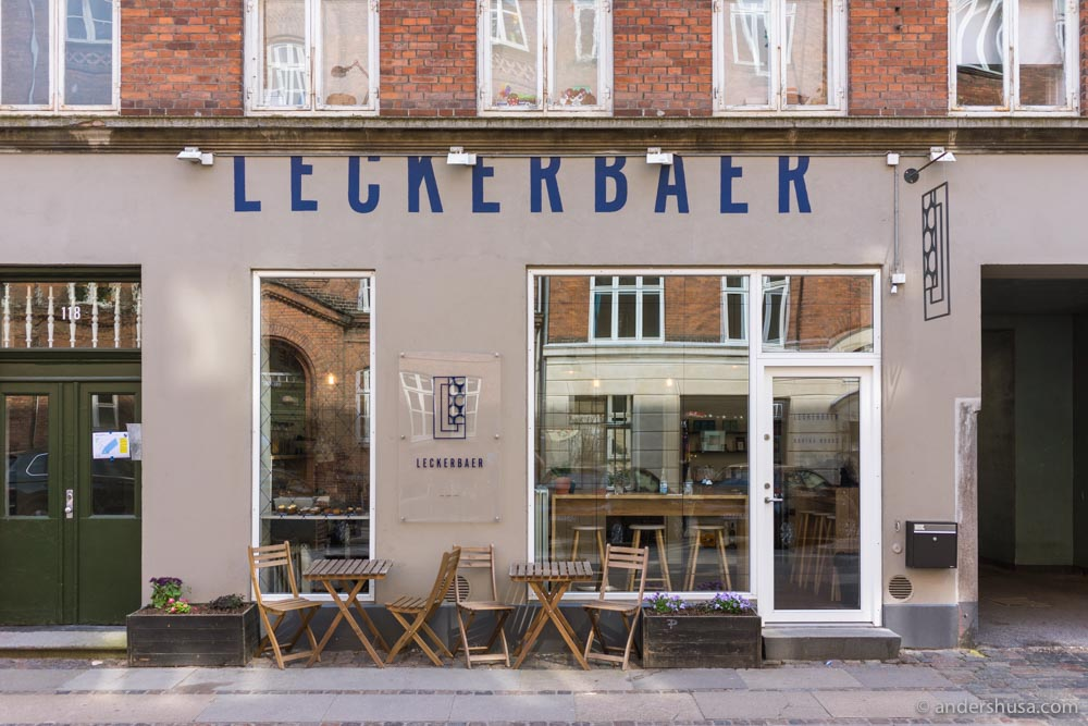 The cutest dessert shop in Østerbro!