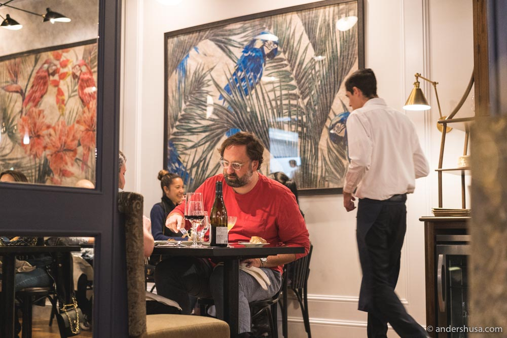 Chef Dave Beran's Pasjoli is the hottest new restaurant in town.