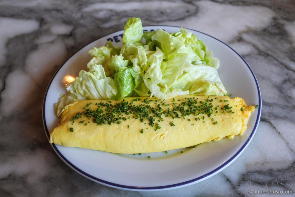 Chef Ludo Lefebvre's classic French omelette is the best we've ever had.