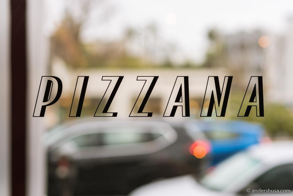 """The name """"Pizzana"""" combines """"pizza"""" and """"Naples!"""""""