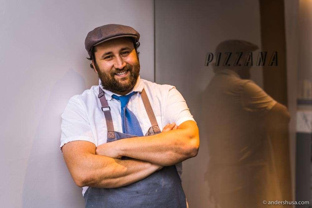 Chef Daniele Uditi – the passionate pizzaiolo behind Pizzana!