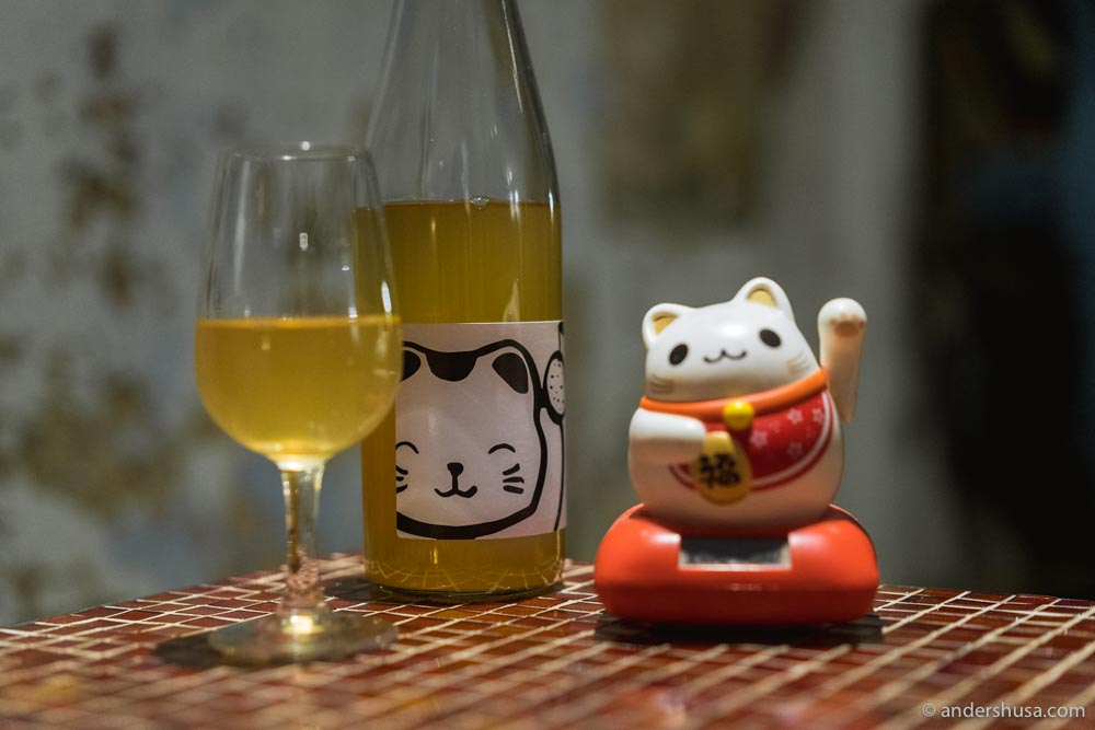Pompette made a wine in collaboration with Weingut Martin & Anna Arndorfer.