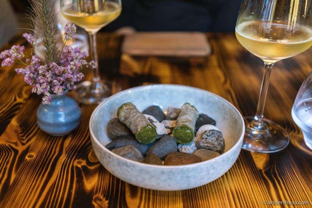 Norwegian baccala mantecato