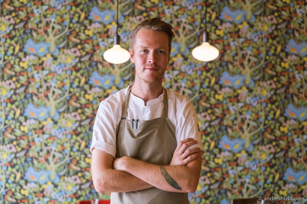 Chef Magnus Pettersson at Selma.