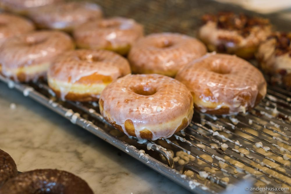 The Butter & Salt is a perfect twist on the classic glazed doughnut.