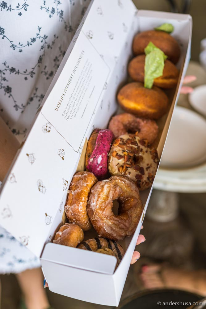 Go early before Sidecar Doughnuts sells out!