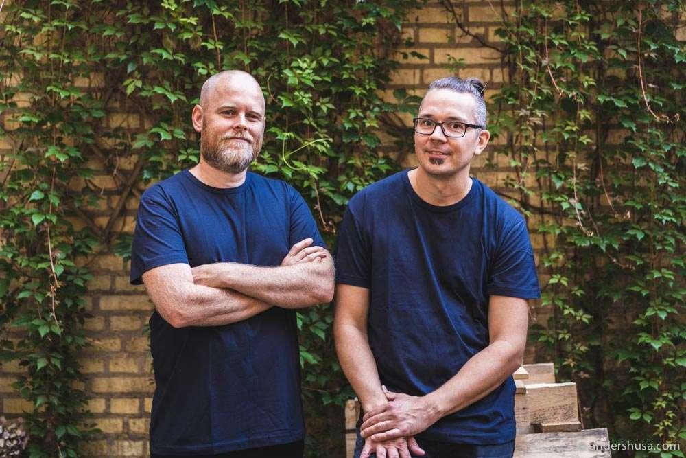 Chefs Johan Björkman and Jonas Larsson of Koka.