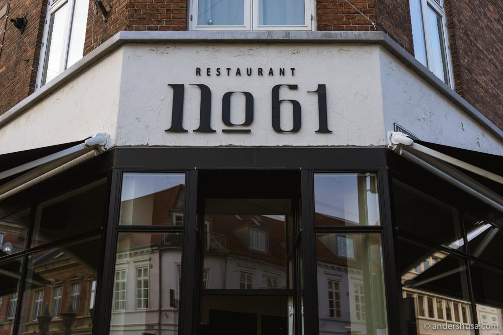 Restaurant No. 61 is doing take-away every day!