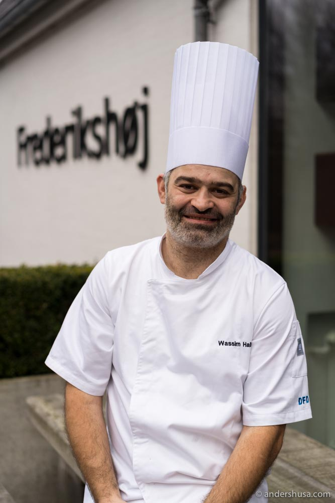 Danish-Lebanese chef Wassim Hallal received his first Michelin star in 2015.