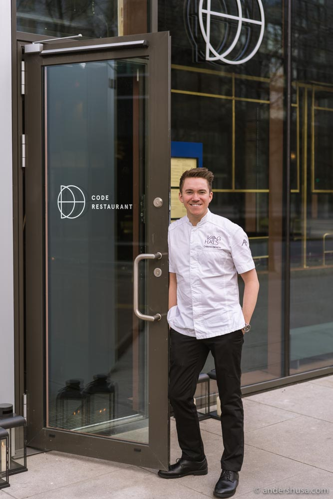 Restaurant Code is the brand new playground of chef Christer Rødseth.