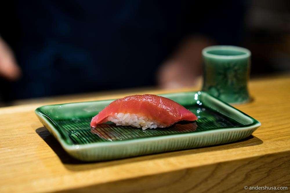 Akami. Lean tuna.