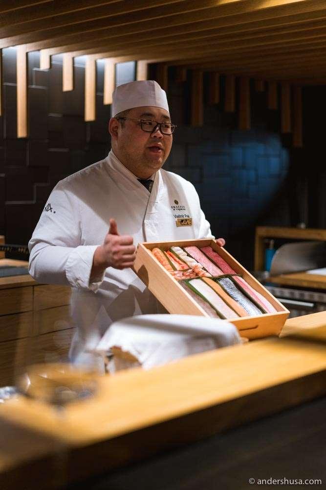 Head chef Vladimir Pak.