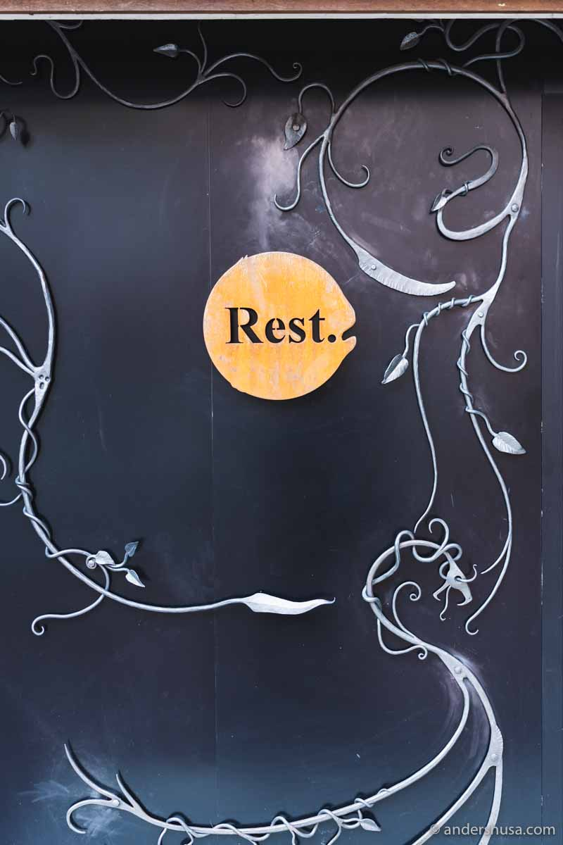 Restaurant Rest is one of Oslo's best restaurants.