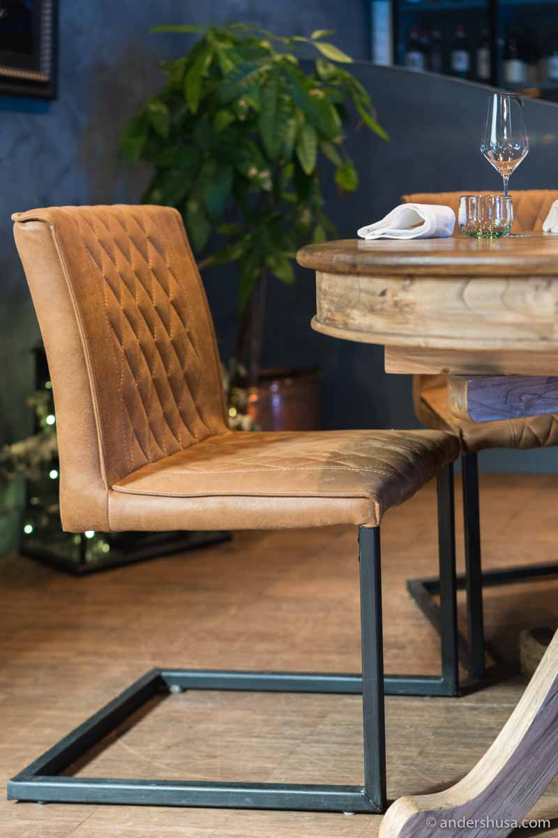 Take a seat at one of the most sustainable restaurants we've ever been to.