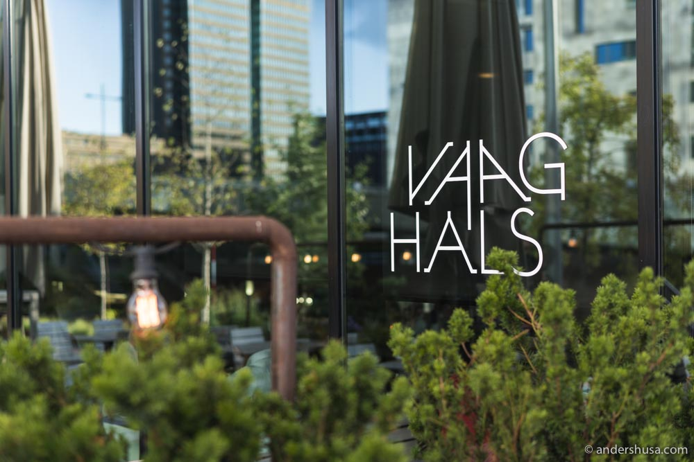 Vaaghals was one of the first restaurants to open in the Barcode area.