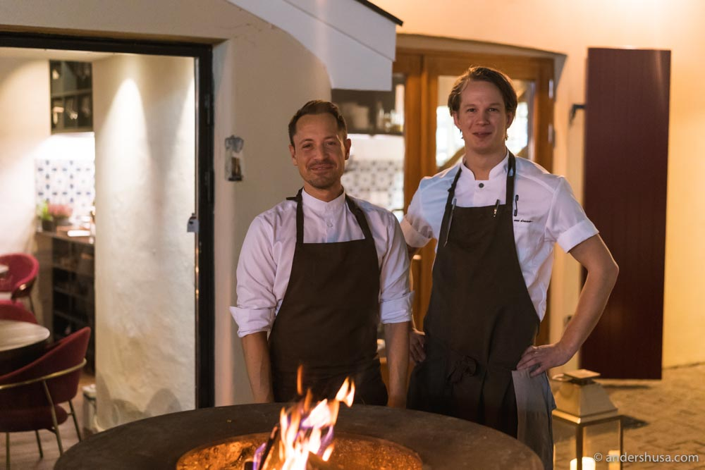 Chef Sebastian Myhre also owns Fyr Bistronomi next door.