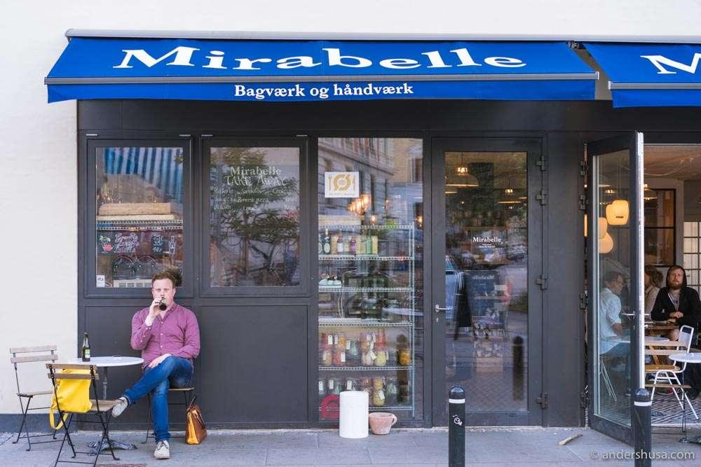 Mirabelle is an organic sourdough bakery in Copenhagen.