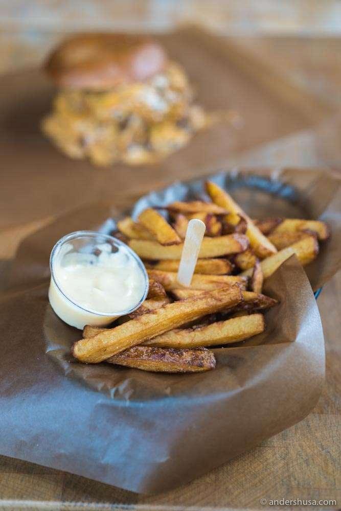 Crispy fries!