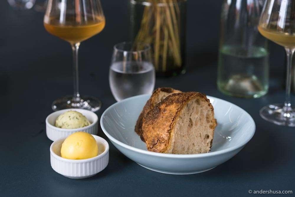Vinøst's house-made sourdough bread is our favorite in Bornholm.