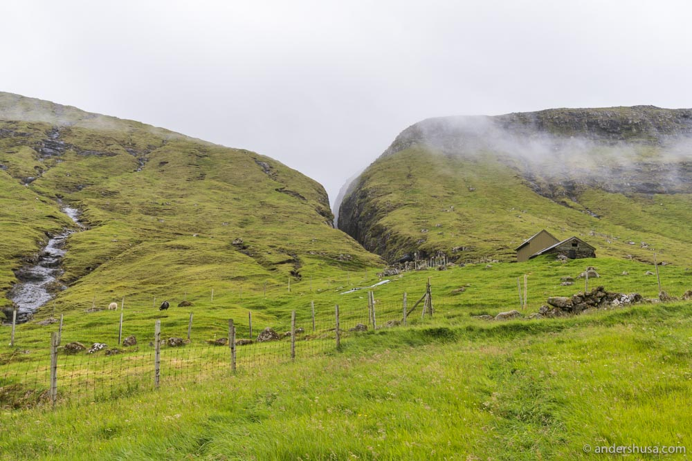 Is this the set of The Lord of the Rings? Nope, these are the Faroe Islands.