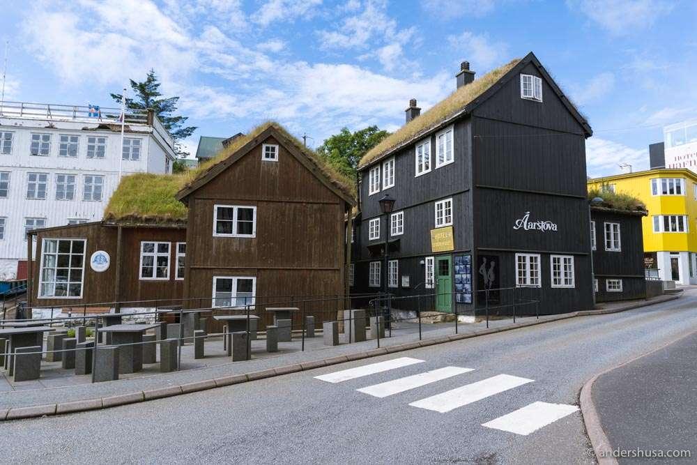 Heima í Havn, the old town of Tórshavn.