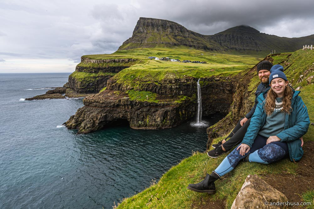 The Múlafossur waterfall is one of our favorite sites on the Faroe Islands.