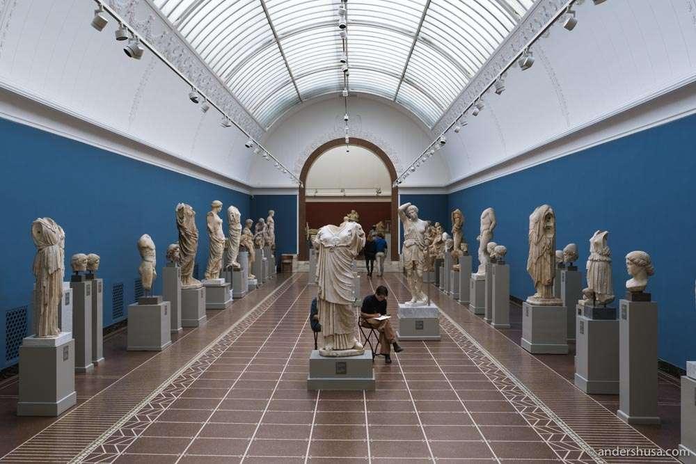 The Ny Carlsberg Glyptotek sculpture museum.