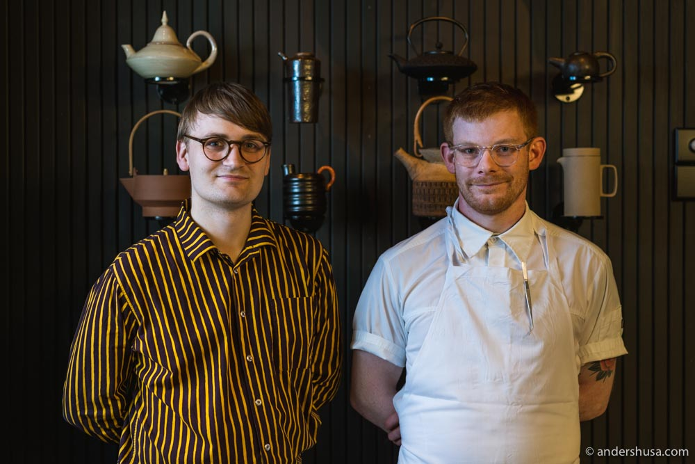 Chef Luke Henderson and sommelier Jefferson Goldring make a dangerous duo – they are both masters of their own domain.