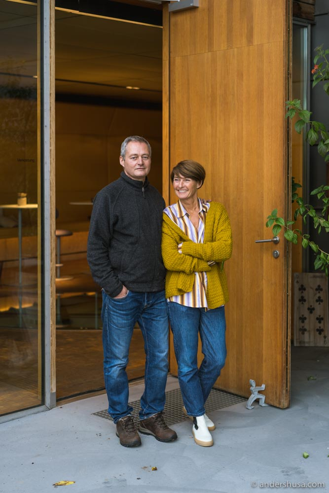 A visit to Gernot and Heike Heinrich is a must when in Burgenland!