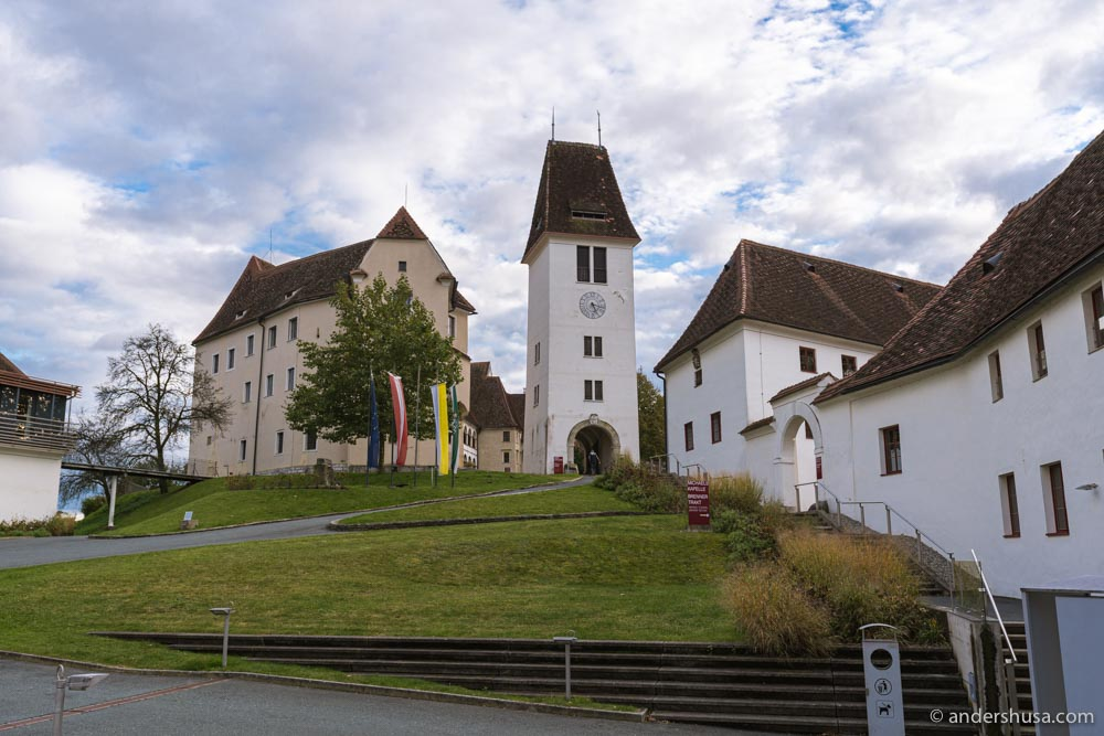 Hotel Schloss Seggau is located inside a historic castle that was built in the 12th century.