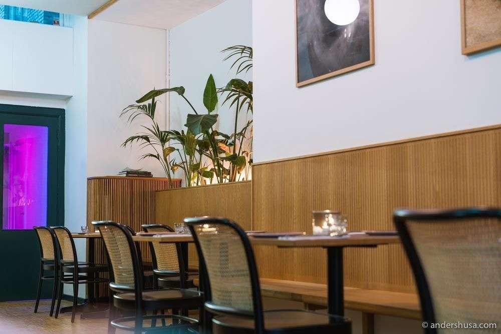Restaurant Donda in Christianshavn, Copenhagen.