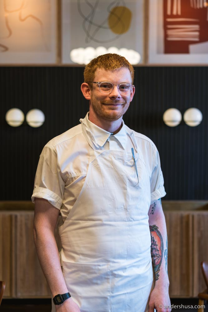 Chef Luke Henderson also has The Tea Room and Imperial in Oslo.