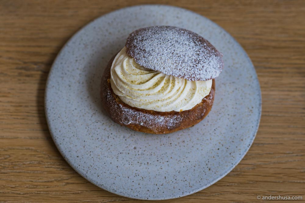 The semla at Darcy's Kaffe.
