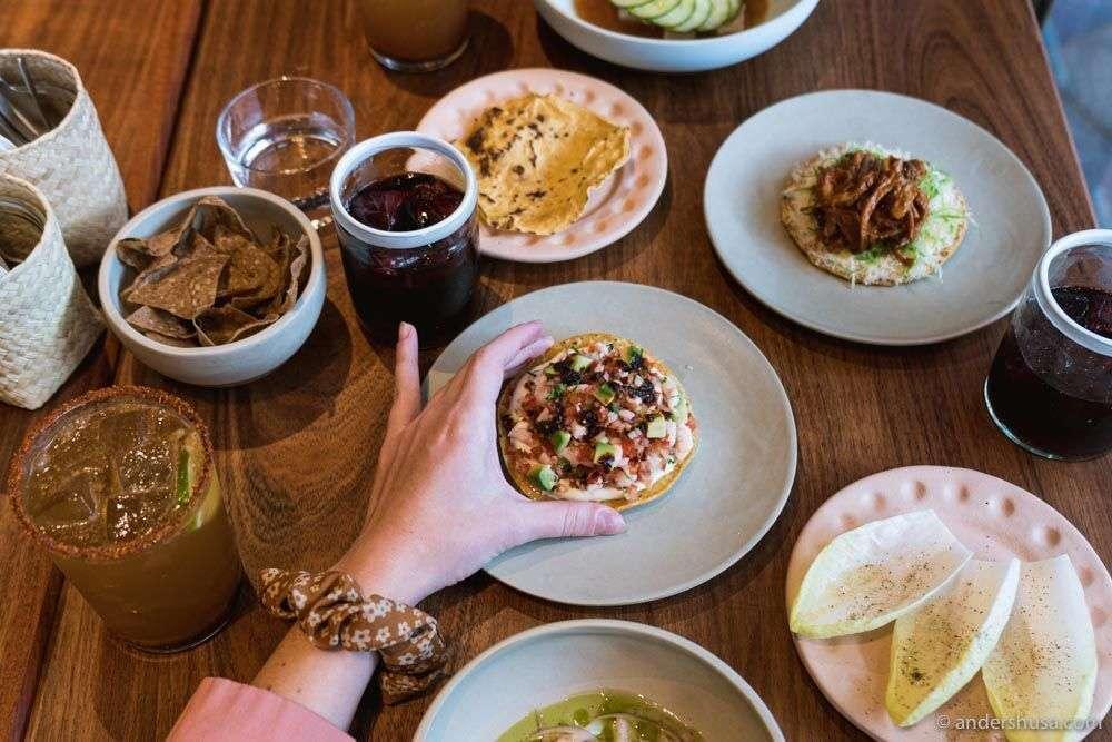 Hija de Sanchez Cantina is the fourth restaurant in the Sanchez empire.