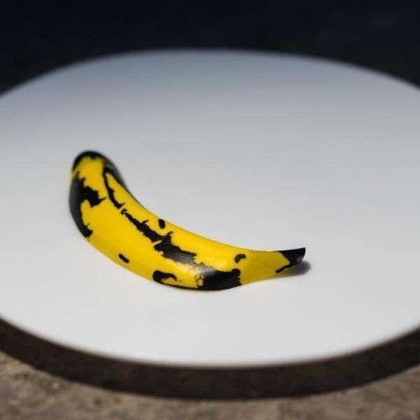 """Warhol"" – banana, tonka, and cachaça."