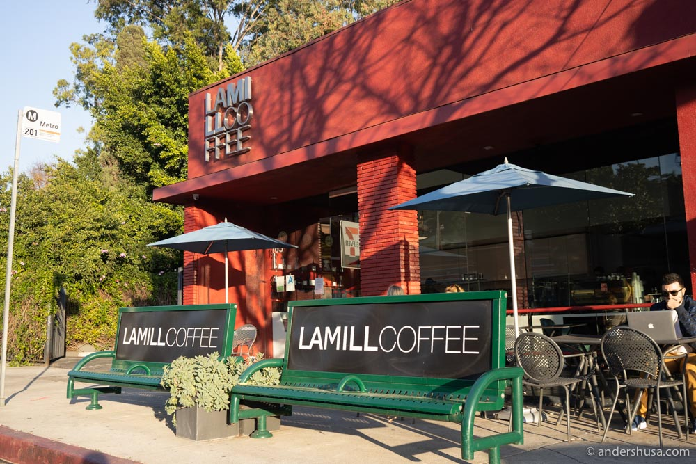 LAMILL has been a Silverlake institution since 2008.