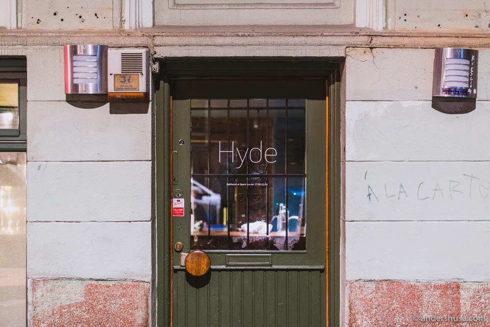 Hyde – enter at your own risk.