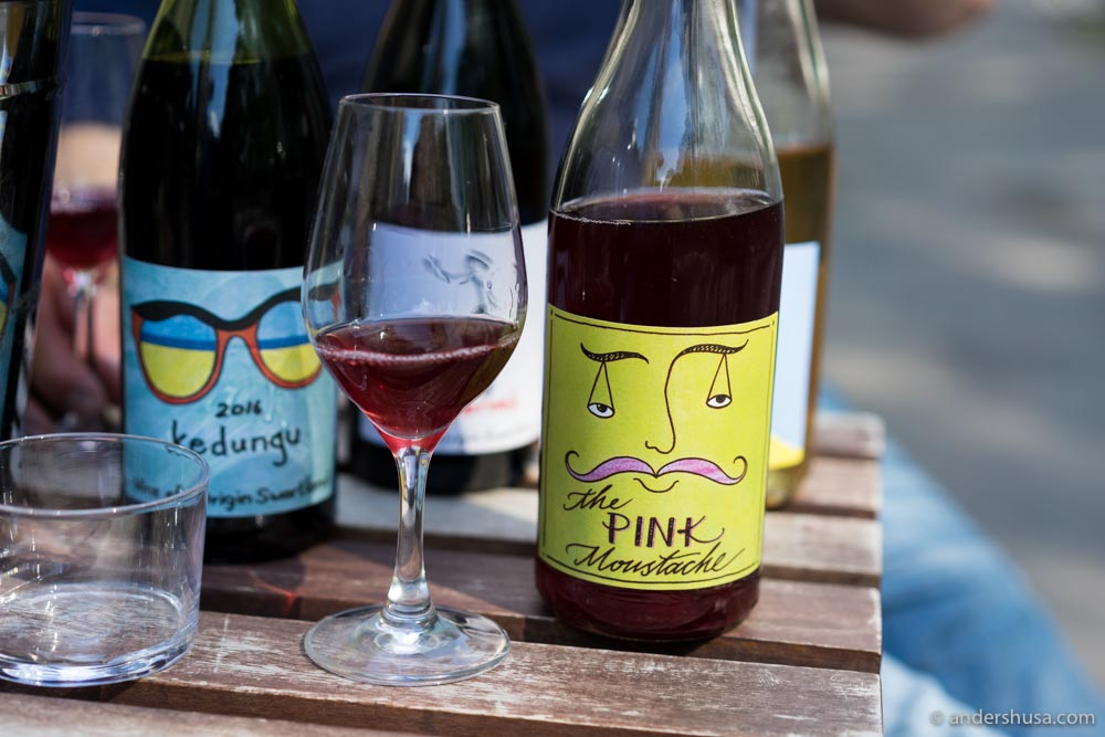 Natural wines often have more fun labels (and flavors)!
